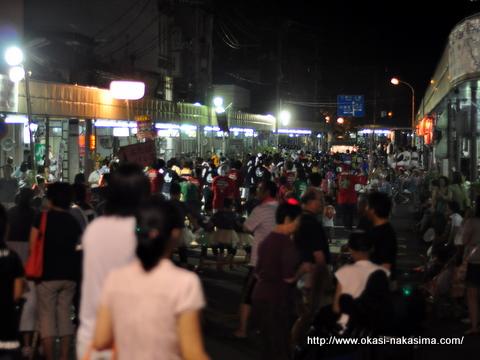 糸魚川おまんた祭り駅前