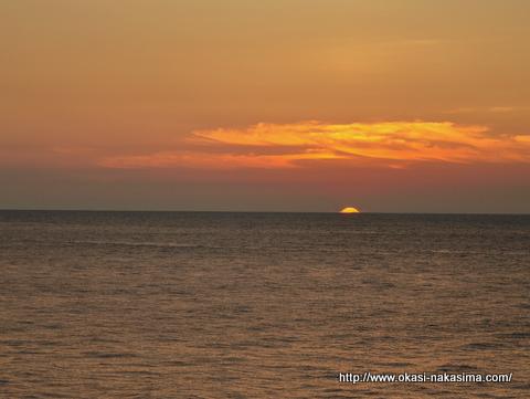 糸魚川の夕日2