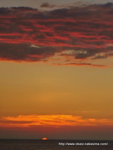 糸魚川の夕日3