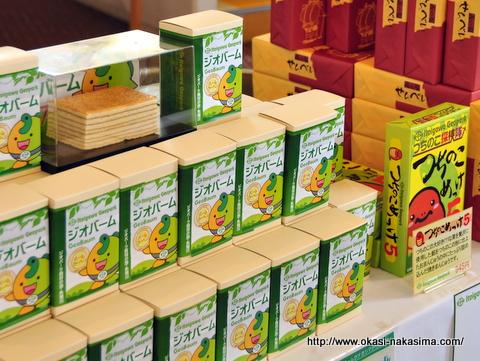 日本ジオパーク糸魚川大会での販売風景