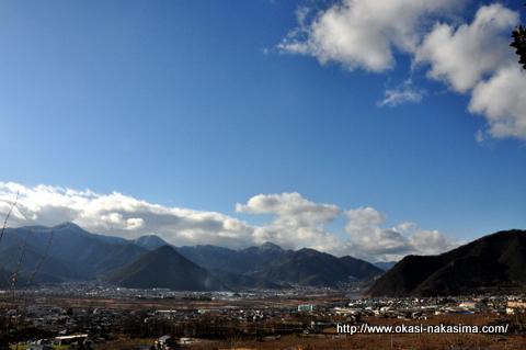 長野の青空