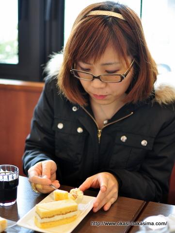 米粉練乳サンドの御試食