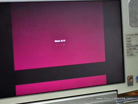 Ubuntuの立ち上げ