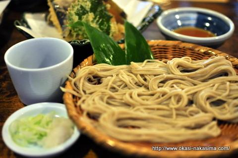 お蕎麦と天ぷら