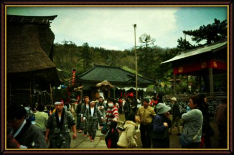 トイカメラ風・白山神社