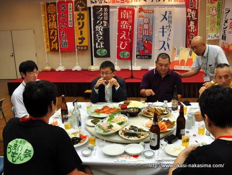 にいがたB級ご当地グルメミーティング in 糸魚川の交流会風景