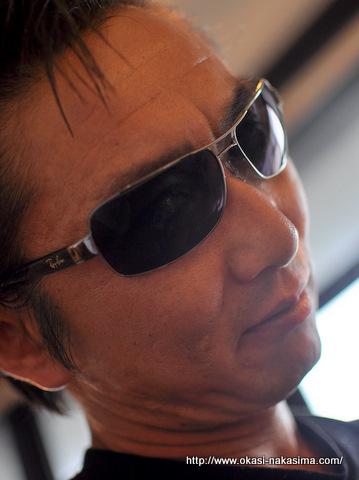 北原さんのサングラス姿
