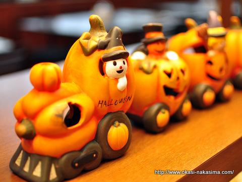 ハロウィンの電車