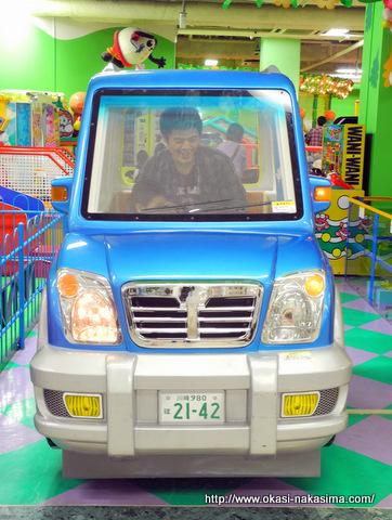 息子とドライブ