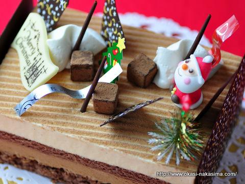 2011年クリスマスケーキ・ショコラバニーユ