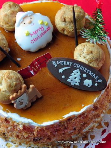 2011年クリスマスケーキ・ダブルチーズ