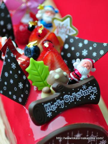 """2011年クリスマスケーキ・とびっ""""Kiri""""のクリスマス"""