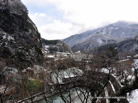 姫川温泉郷方面