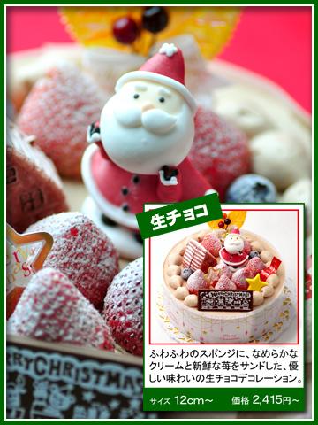 サンタさんからの贈り物(生チョコ)