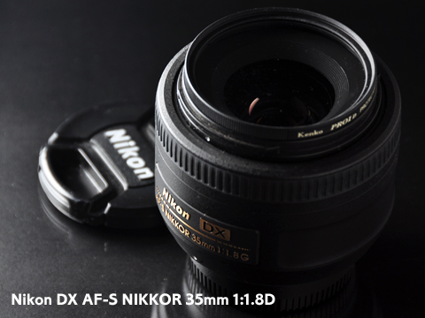 Nikon DX NIKKOR 35mm 1:1.8D