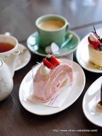 ケーキバイキング撮影用のケーキ