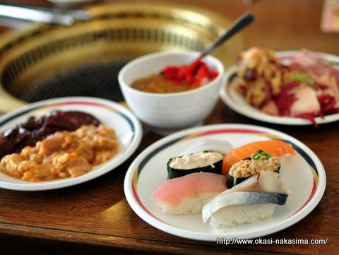 カレーと焼肉と寿司