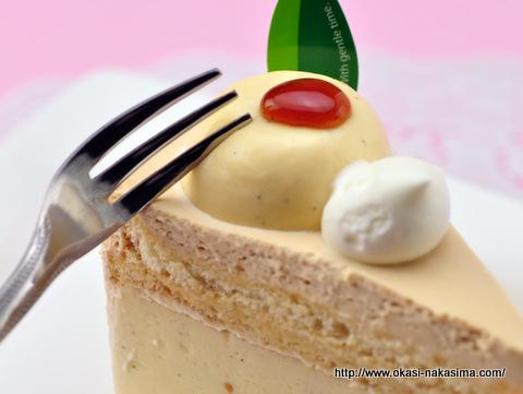 プリンショートケーキ