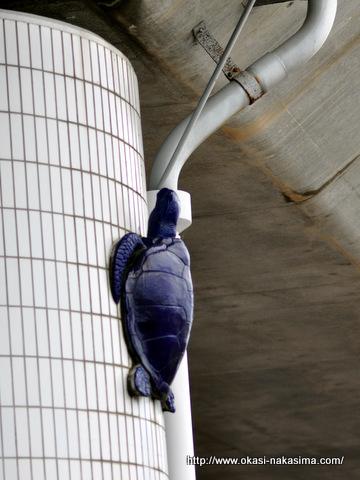 高架下の亀