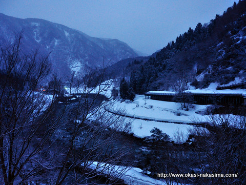 糸魚川雪の風景