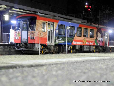大糸線ラッピング電車
