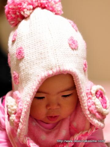 冬用の帽子