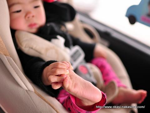 小さい手と足