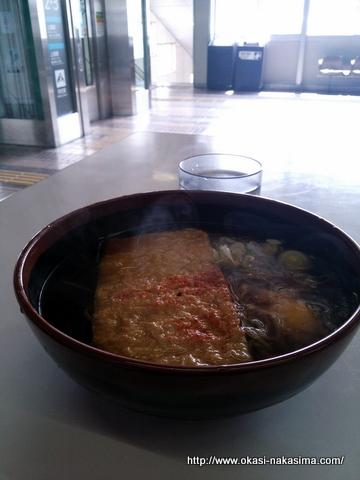 越後湯沢駅で