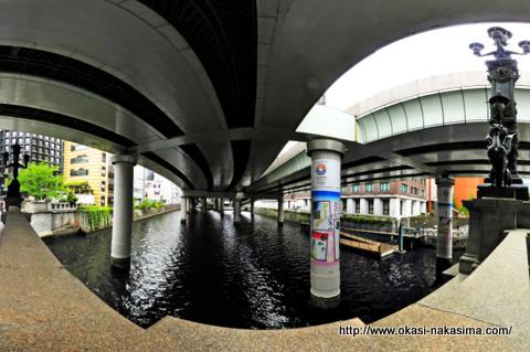 日本橋の高架下