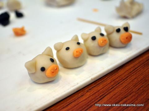 豚の上生菓子