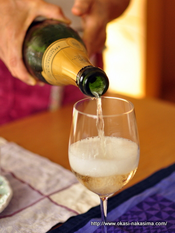 シャンパンの泡