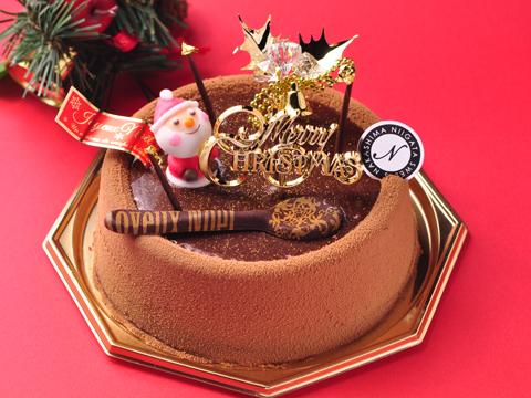 2013年クリスマスケーキ「ショコラクリスタル」