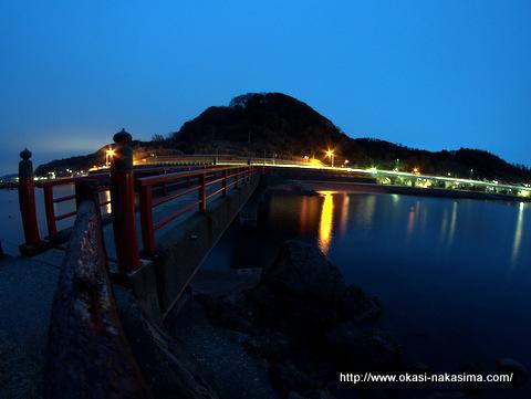 夜のあけぼの大橋