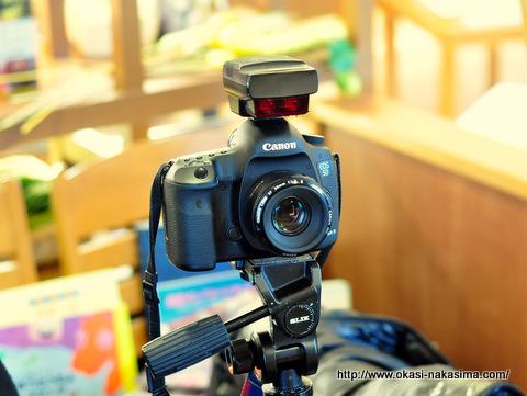 カメラマンさんのカメラ