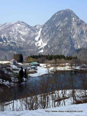 高浪の池と明星山