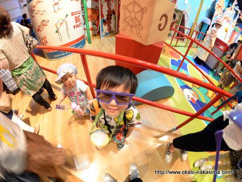 アトラクション用の3Dメガネ
