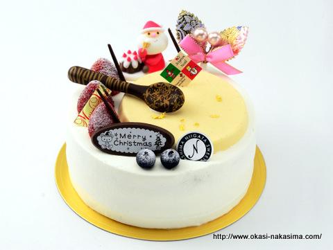 ハピー様限定のクリスマスケーキ