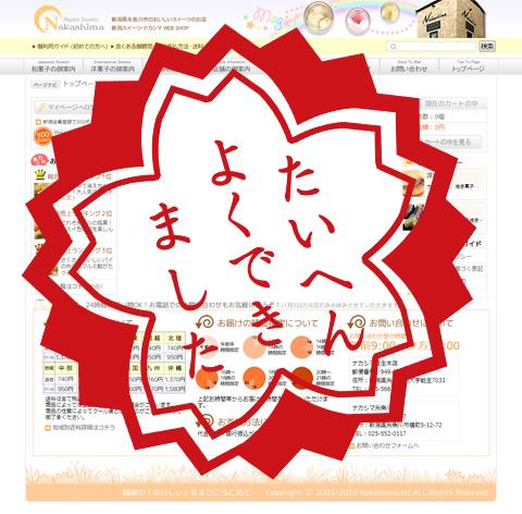 ブログ・ナカシマ2200回達成